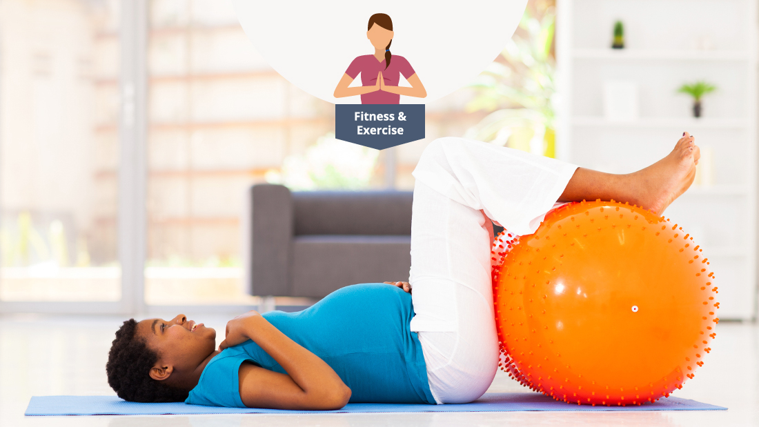 Second Trimester Exercises Using A Fitness Ball